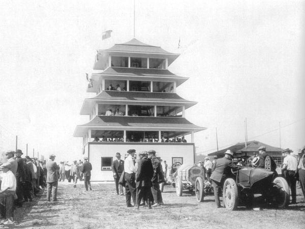 Ims Pagoda 1913 First Super Speedway