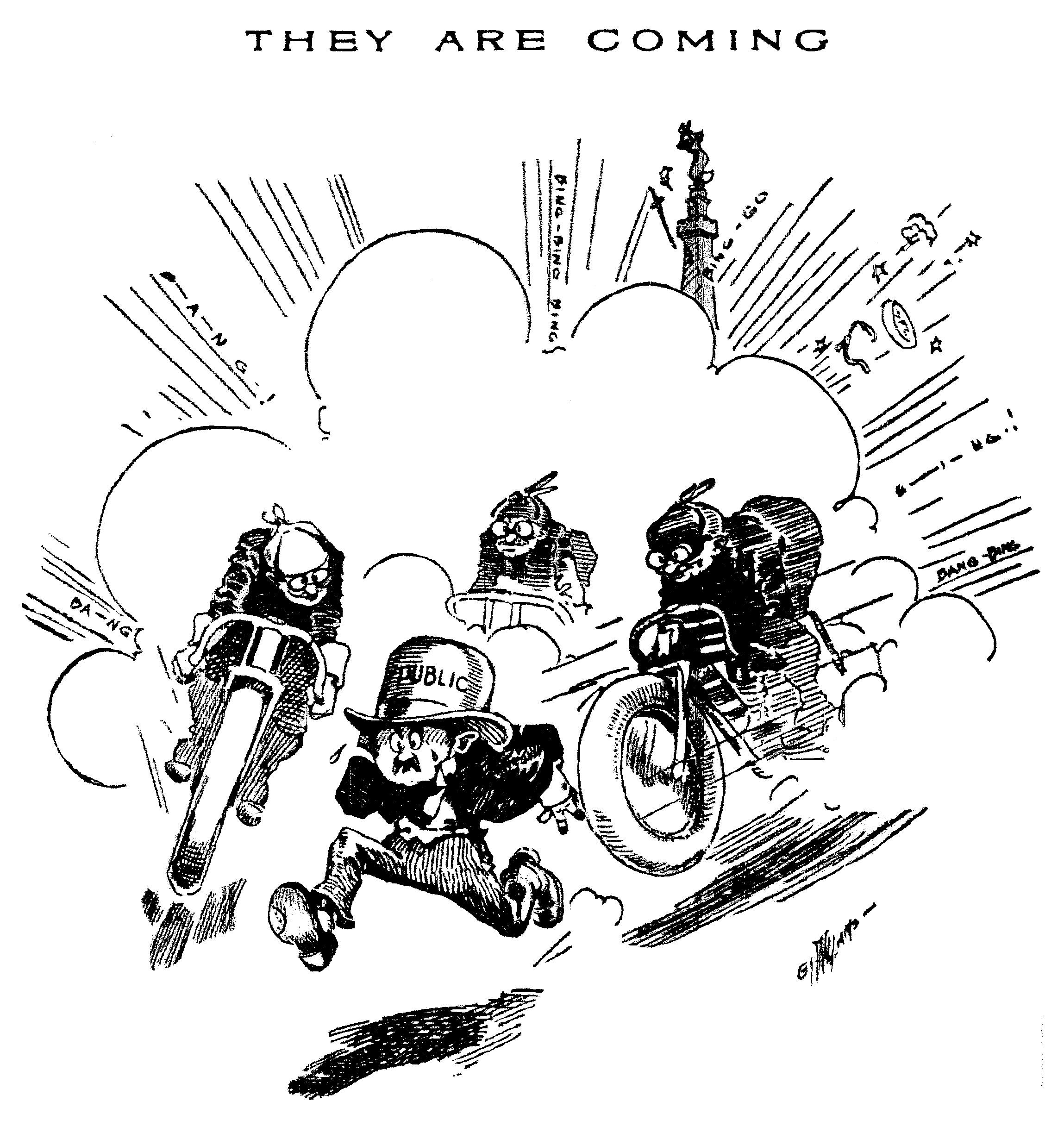 1909 Motorcycle Races!