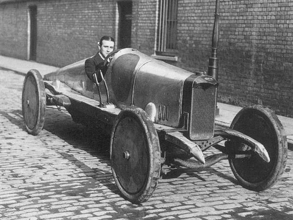 W.O. Bentley - 1914 | First Super Speedway